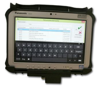 XR4309 Radladerkonsole. Die Einweisung für den Radlader- Fahrer ist überschaubar. Die Anwendung gestaltet sich intuitiv und selbsterklärend.