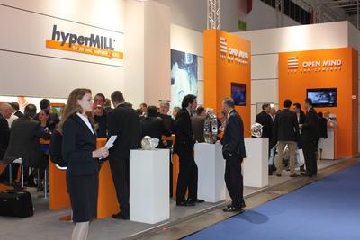 Großes Besucherinteresse bei OPEN MIND auf der EuroMold
