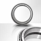 Laser marked ball bearing (annealing).