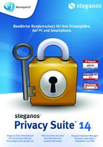 Schützt die Privatsphäre wirkungsvoll im Internet, am PC und mit dem Smartphone: Steganos Privacy Suite 14