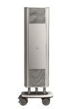 Für nicht-öffentliche Bereiche in Märkten eignen sich auch leistungsfähige mobile UV-C Geräte wie AirCom.