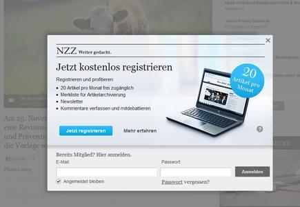 : Die Neue Zürcher Zeitung monetarisiert Online-Inhalte mit Hilfe von Ray Sono