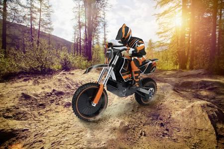 Das Dirtbike von Reely im Maßstab 1:4 / Bild: © Conrad Electronic
