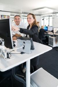 Bild 3: In der neuen Lapp Europazentrale ist alles offen – für mehr Austausch, Kommunikation und Kreativität
