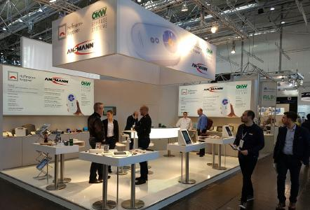 Three authorities united on one exhibition stand