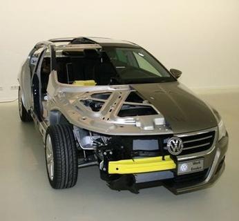 Schnittmodell von Volkswagen