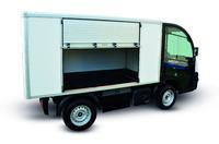 Der Van hat ein Ladevolumen von 2,5 bis 3,1 m³ © Iseki-Maschinen GmbH