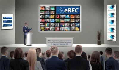 Bühne auf der eREC (Abb.: MSV GmbH)