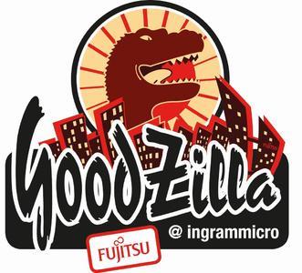 GoodZilla Logo Ingram Micro Fujitsu