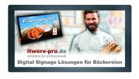 Digital Signage Bäckerei