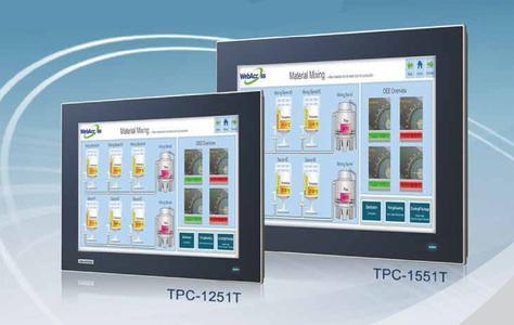 Advantech, Advantech Touchscreen-Computer der neuesten Generation in True-Flat-Bauweise - die Mensch-Maschine-Schnittstelle der Zukunft