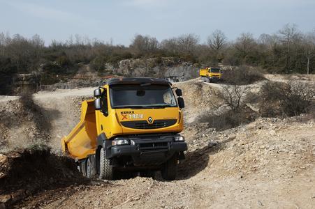 Der sehr robuste Renault Kerax EXTREM ist jetzt auch auf den europäischen Märkten erhältlich