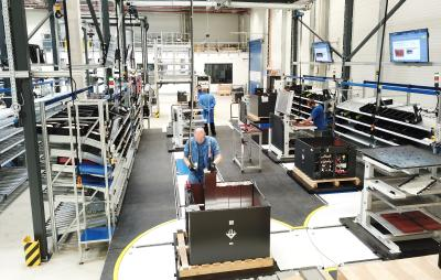 KION Battery Systems starts production of lithium-ion batteries