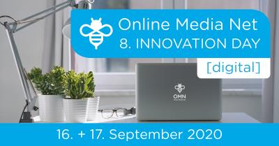 8. Online Media Net Innovation Day 2020 findet digital statt