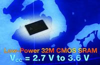 Alliance Memory Launches New High-Density, Low-Power 32M CMOS SRAM Offering 2.7-V to 3.6-V Power Supply in 12-mm by 20-mm TSOP-I Package