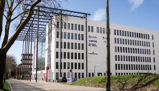 Firmensitz der virtic GmbH & Co. KG am Dortmunder Rheinlanddamm