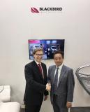 Partnershaft Blackbird Robotersysteme und Intech, Japan