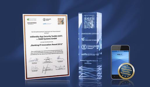 KOBIL Systems erhält Auszeichnung für mIDentity AST