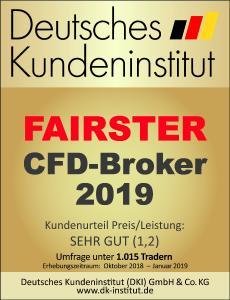 Fairster CFD Broker 2019 FXFlat