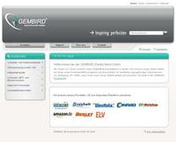 GEMBIRD reloaded - Neue Website ab sofort online