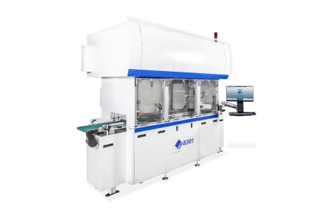 The SST 8301 Automated Vacuum Soldering System placed at Fraunhofer IISB. Photo: Palomar Technologies