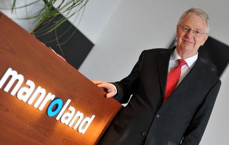Uwe Lüders, Vorstandsvorsitzender L. Possehl & Co. mbH, und Geschäftsführer manroland web systems GmbH. (© manroland web systems GmbH, Foto: Stefan Puchner)