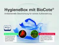 Mehr Hygiene in Corona Zeiten: Die MicroDrop® HygieneBox macht es einfach!
