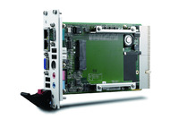 The cost-effective cPCI-3610 Series delivers integrated graphics with low power consumption