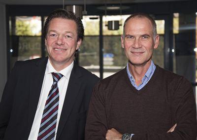 Stefan Hackmann und Frank Veldhoven