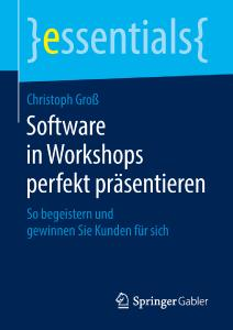 Buchcover - Software in Workshops perfekt präsentieren