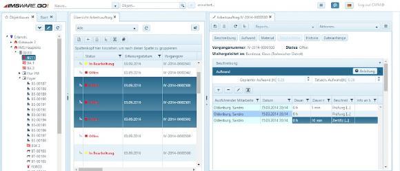 Die neue Version der Cloud-Lösung IMSWARE.GO! für CAFM ist in vielen Bereichen deutlich aufgewertet
