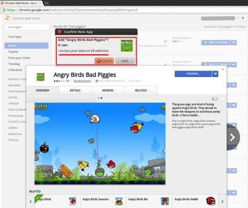 Die Genehmigungen, welche Angry Birds Bad Piggies fordert