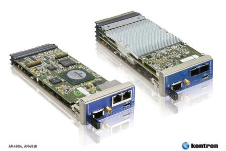 Kontron MicroTCA™ Carrier Hubs  now support MTCA.4 specification