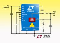 40V, 1A Synchronous Buck Converter Can Step 36VIN  Down to 3.3VOUT with a 2MHz Switching Frequency