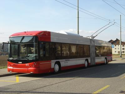 "Stadtbus Winterthur: Two additional ""Swisstrolleys"" ordered from Hess and Vossloh Kiepe"
