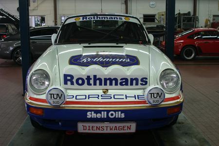Wird am 22. März um 17:30 Uhr am Stand von TÜV Süd auf der Retro Classics enthüllt: Porsche 911 SCRS (Bild: TÜV Süd )