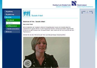 Virtuelle Studienberatung Soziale Arbeit Hochschule Niederrhein