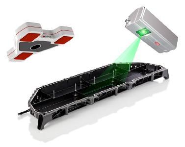 Visualisierung der Werkerführung durch den Laser