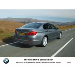 The new BMW 5 Series 2