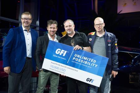 """Infinigate gewinnt Preis für """"GFI Unlimited Best Performance"""""""