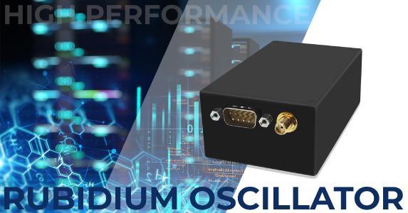 High-performing Rubidium-Oszillator SRO30S von Suntsu