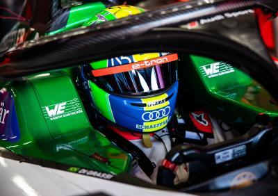 Die sportliche Werbung für eMobility – nach der Corona-Pause werden die Cockpits der Formel E wieder besetzt / Bildquelle: Audi Media Center