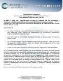 [PDF] Pressemitteilung: Caledonia erhöht ihre Beteiligung an der Mine Blanket auf 64 Prozent (NYSE AMERICAN: CMCL; ZIEL: CMCL; TSX: CAL)