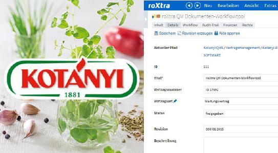 Erfolgreiche Umsetzung von QM-Dokumentenlenkung und Vertragsmanagement mit roXtra