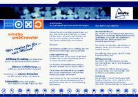 mindUp webCrawler Flyer