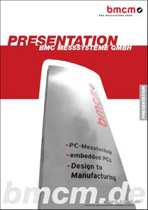 BMC Messsysteme GmbH - Innovative Measurement Technology made in Germany