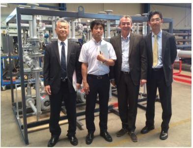 heat 11 passes audits of Japanese customers