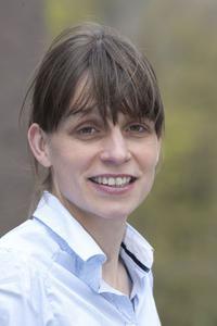 Dr. Frauke Gräter. Leiterin der Forschungsgruppe Molecular Biomechanics am HITS (Foto: Bernhard Kreutzer / HITS)