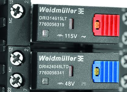 Weidmüller D-Series: Clearly legible product recognition and colour coding of the test buttons reduce errors in installation and service