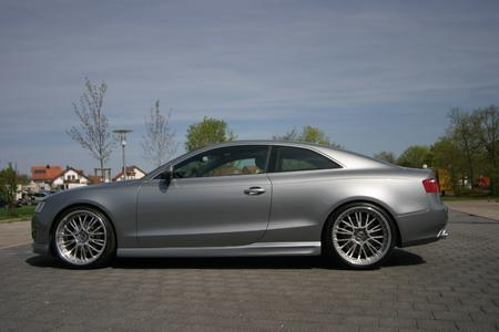 Audi A5 Coupe Seitenansicht